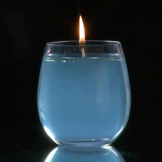 candele acqua