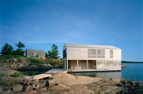 Galleria foto - La casa sul lago che galleggia come una barca Foto 5
