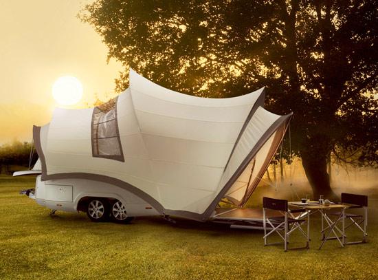 Tenda da campeggio: design moderno e comfort