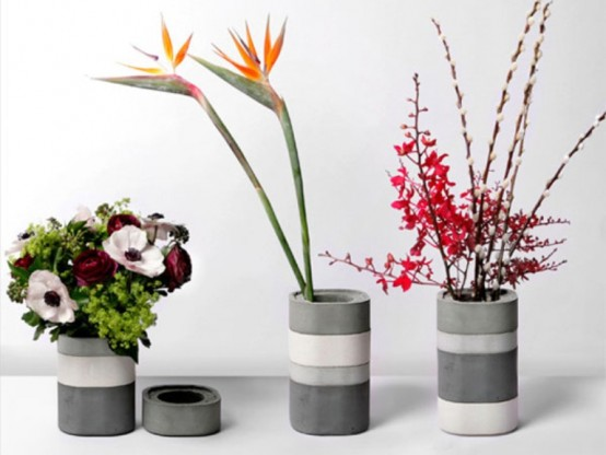 Vasi modulari in calcestruzzo for Vasi giapponesi