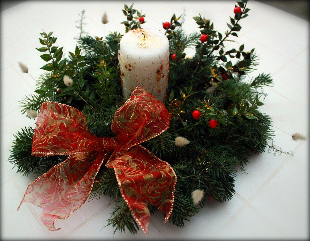 Centrotavola natalizio fai da te for Lavori fai da te in casa