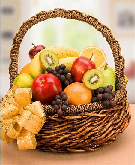 cesto di frutta idea regalo