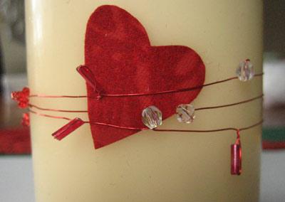 Galleria foto - Candele romantiche per San Valentino Foto 3