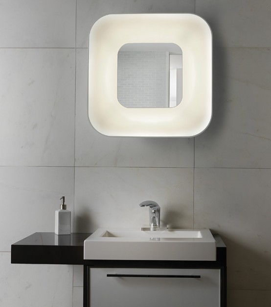 lampada specchio