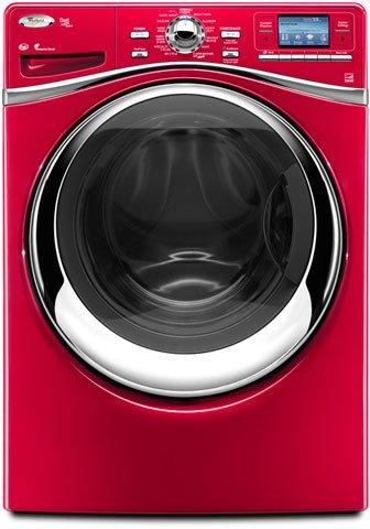 lavatrice rossa