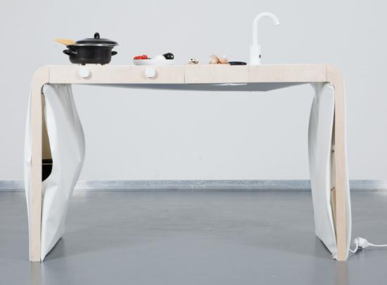 cucina compatta design