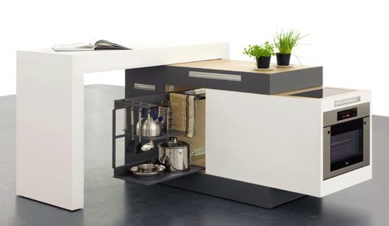 cucina piccola modulare