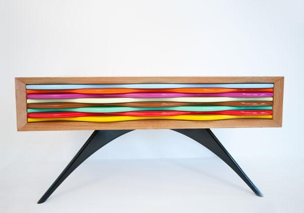 mobili colorati design
