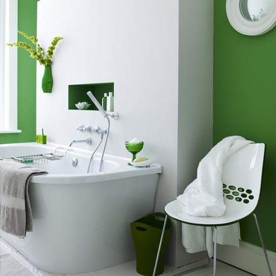 Galleria foto - Come tinteggiare le pareti del bagno? Foto 41