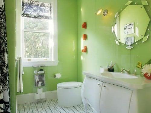Galleria foto - Come tinteggiare le pareti del bagno? Foto 10