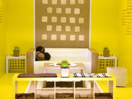 soggiorno giallo