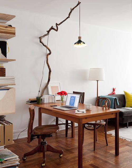 Galleria foto - Lampade realizzate con i rami degli alberi Foto 15