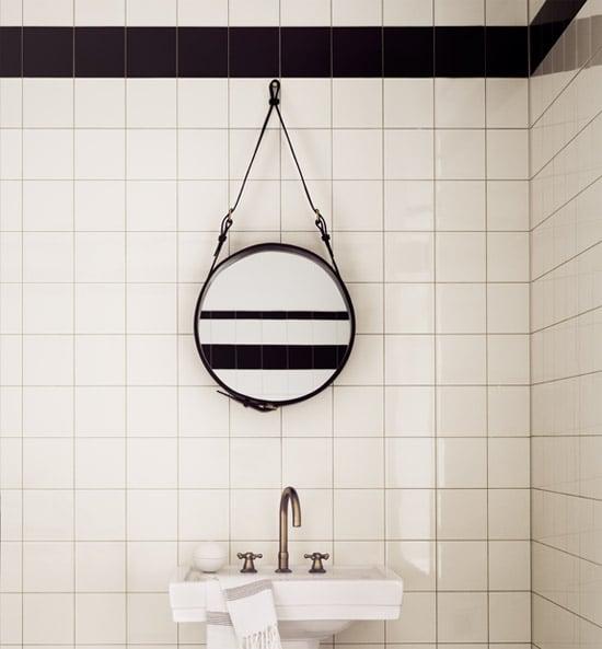 specchio fai da te da bagno