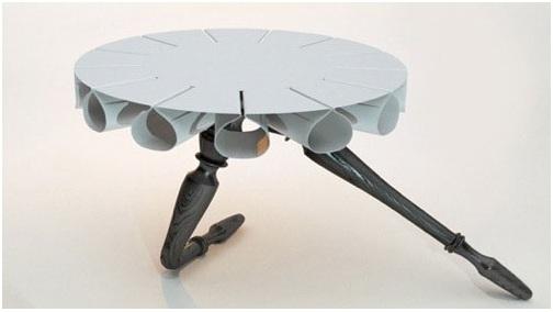 Tavolino tutù per salotti moderni