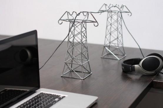 Linee elettriche da scrivania