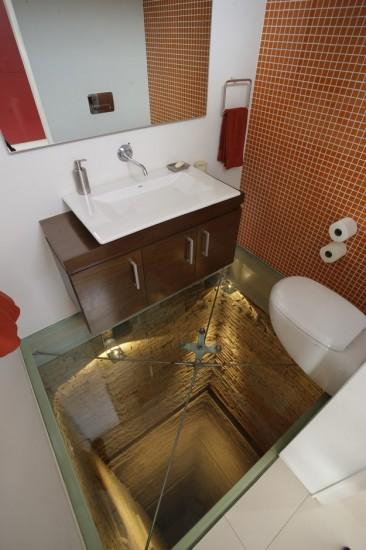 bagno terrorizzabile