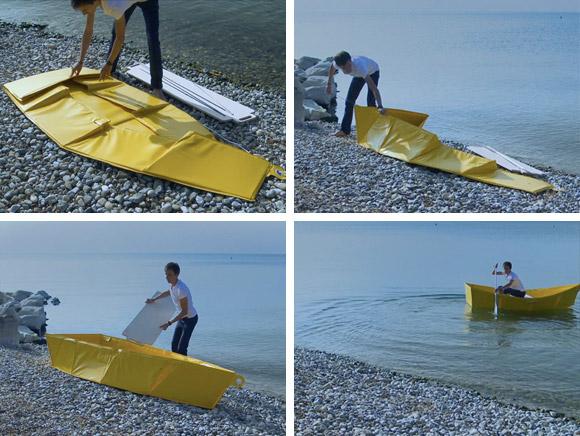 Barca pieghevole fai da te
