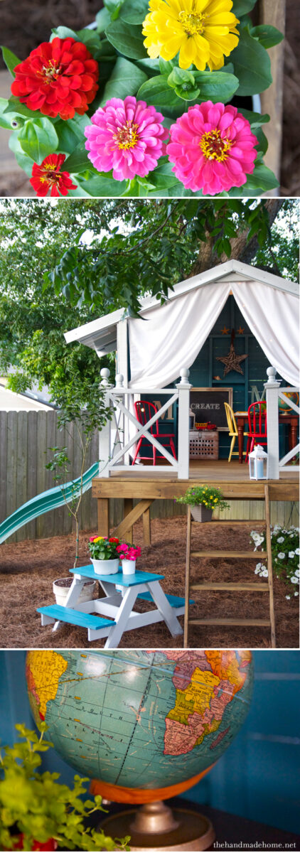 casetta in giardino per bambini