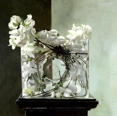 fiori e piante in vasi con l'acqua