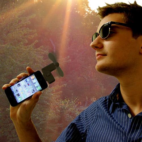 Ventilatore per iPhone