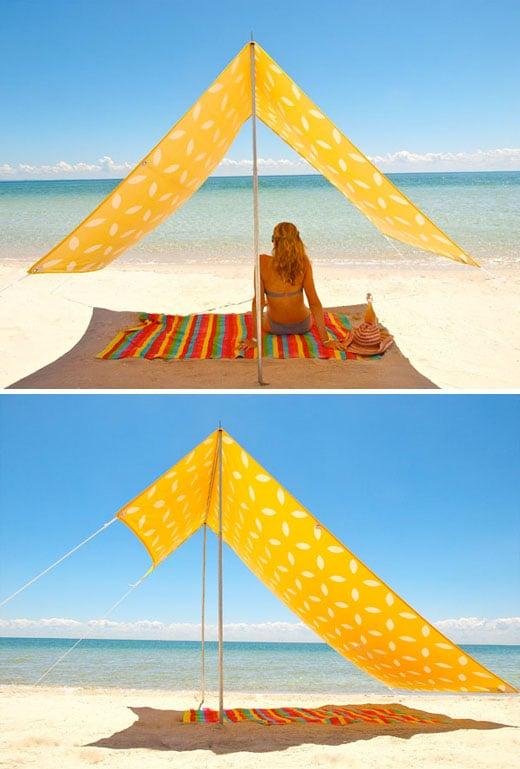 Ombrellone Da Mare Con Tenda.Tenda Da Spiaggia Sombrilla