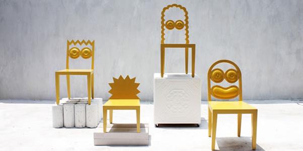 Galleria foto - Sedie cartoon: le Simpson Chair Foto 1