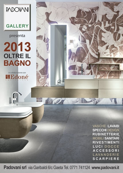 Oltre il Bagno 2013 - Il nuovo showroom di Padovani