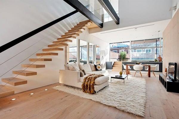 Come arredare un loft for Arredamento moderno di lusso