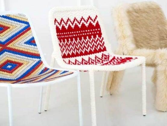 Cozy: la sedia e i suoi vestiti