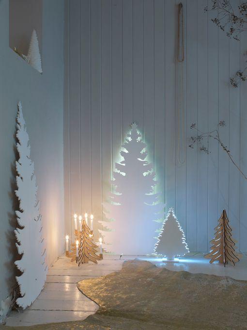 Galleria foto - Come addobbare l'albero di Natale bianco? Foto 24