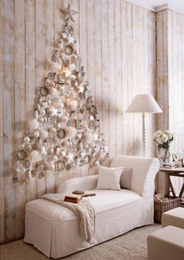 Galleria foto - Come addobbare l'albero di Natale bianco? Foto 3