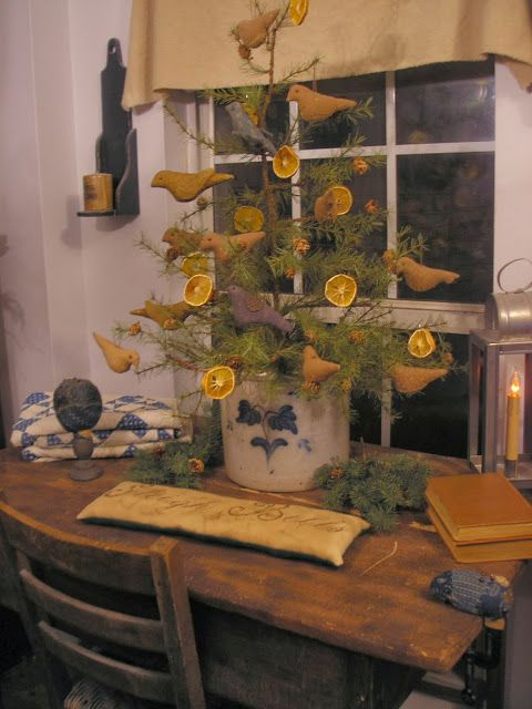 albero-natale-rustico-arance