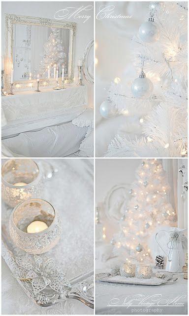 Galleria foto - Come addobbare l'albero di Natale bianco? Foto 15