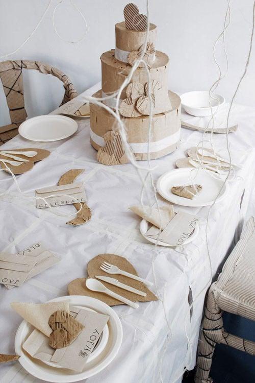 Galleria foto - Come apparecchiare la tavola di San Valentino Foto 1