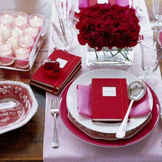 Decorazioni fai da te per apparecchiare la tavola di san valentino - Idee tavola san valentino ...