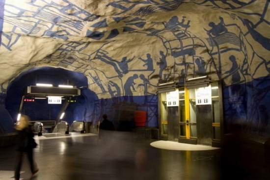 metropolitana stoccolma 11
