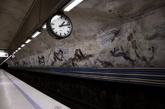 metropolitana stoccolma 2