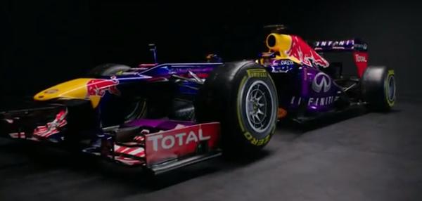 nuova red bull 2013 formula1