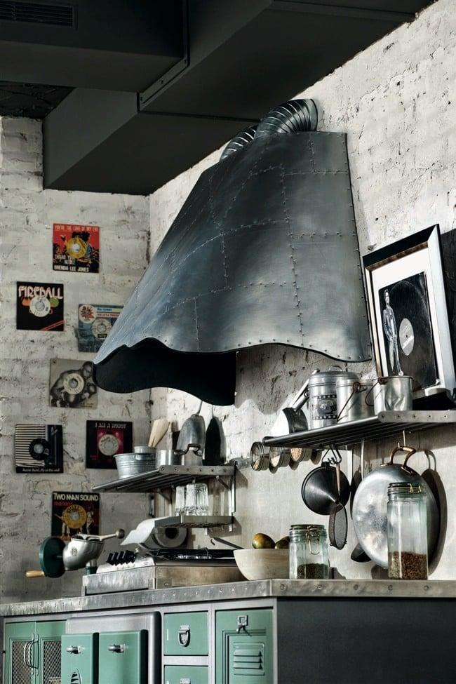 cucine vintage di marchi cucine. Black Bedroom Furniture Sets. Home Design Ideas