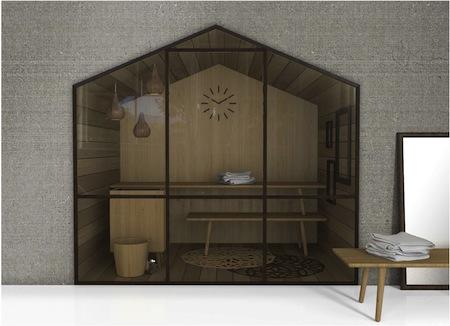 Glass: saune design ed innovazione