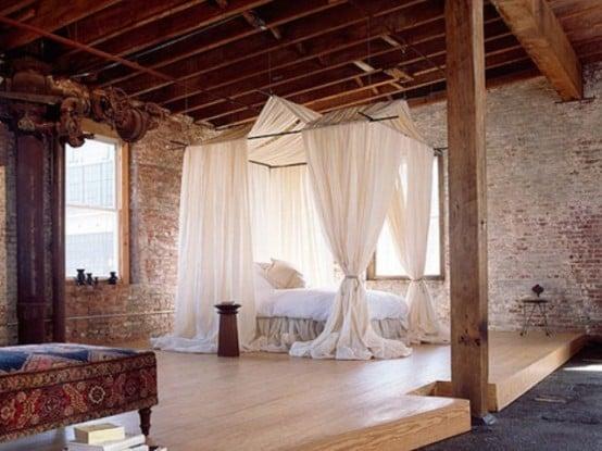 Camere Da Letto Rustiche Matrimoniali : Camere da letto con pareti in pietra