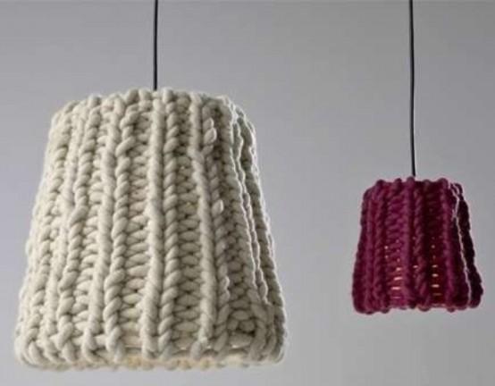 mobili rivestiti in lana 5