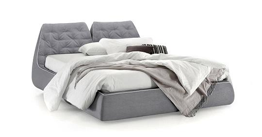 Letto moderno sunny di bontempi for Design moderno del letto