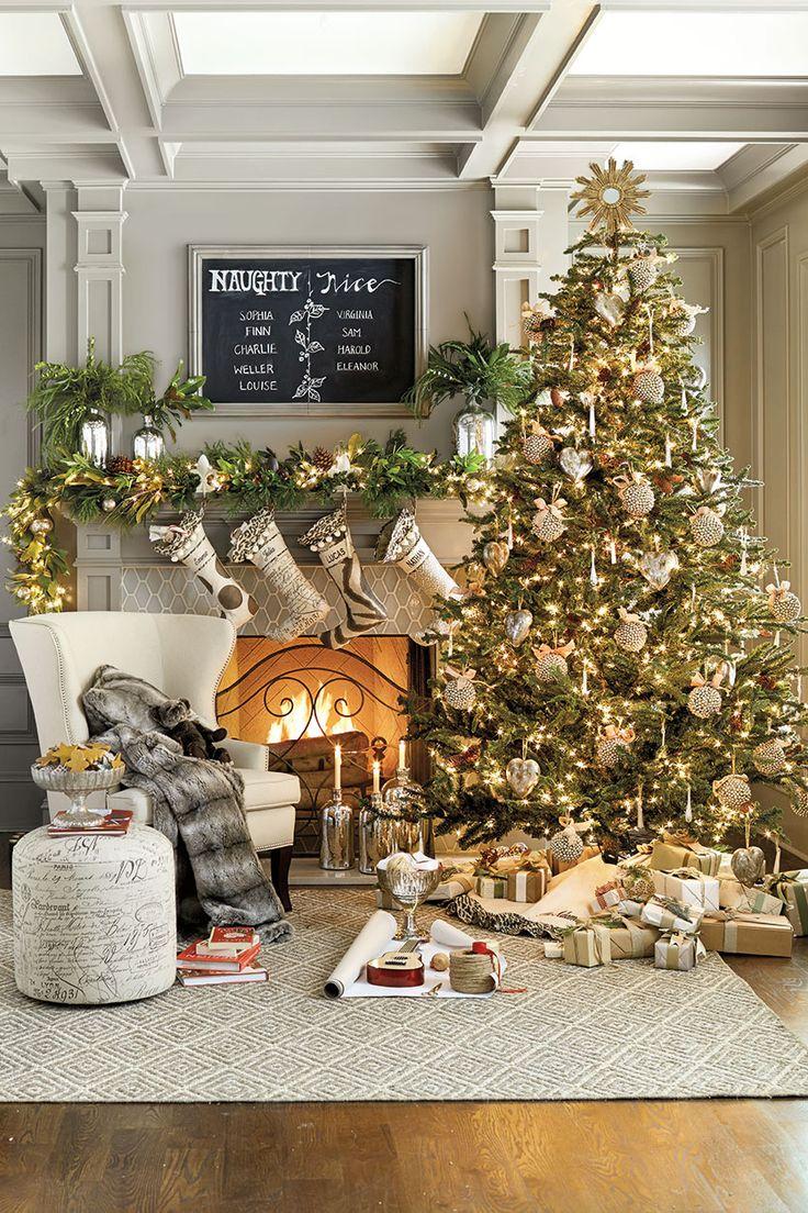 Albero Natale Decorato Rosso arredare casa per natale
