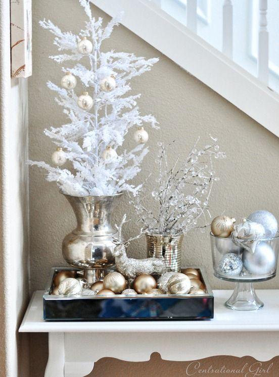 Galleria foto - Come addobbare l'albero di Natale bianco? Foto 32