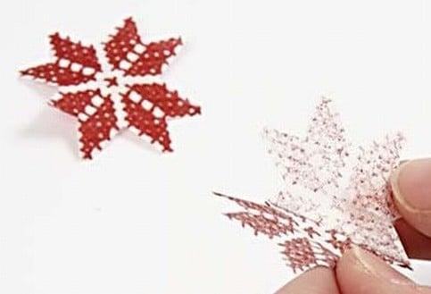 portacandele natalizi fai da te 3