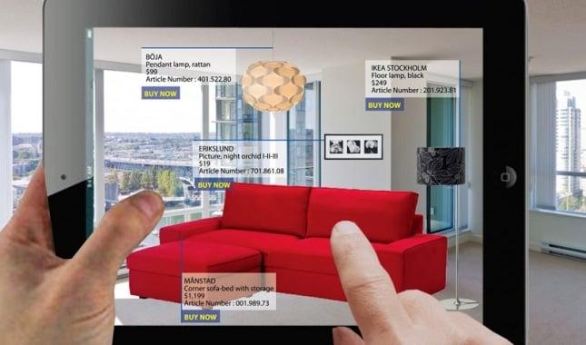 Catalogo Ikea in Ologrammi Realtà aumentata IKEA Place