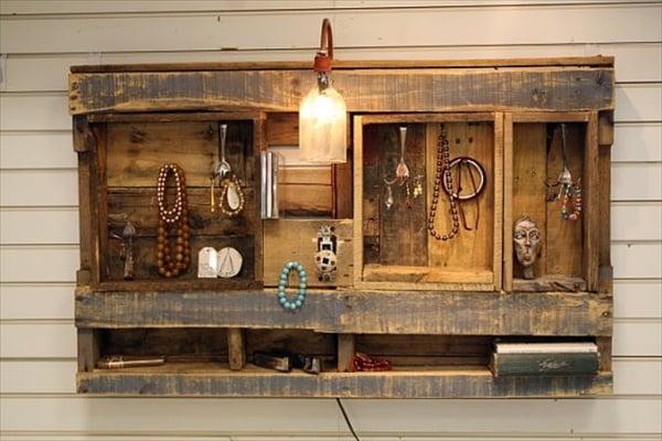 Credenza Con I Pallet : Pallet: come trasformarlo in mobili e complementi darredo