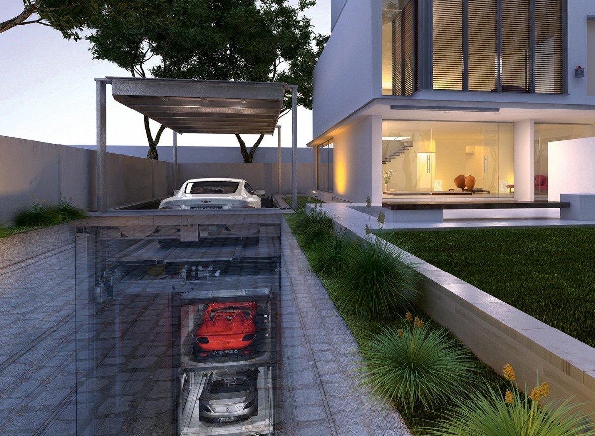 Parcheggio intelligente - Garage mobile per auto ...