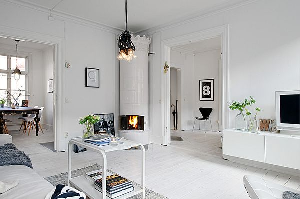 stile nordico soggiorno